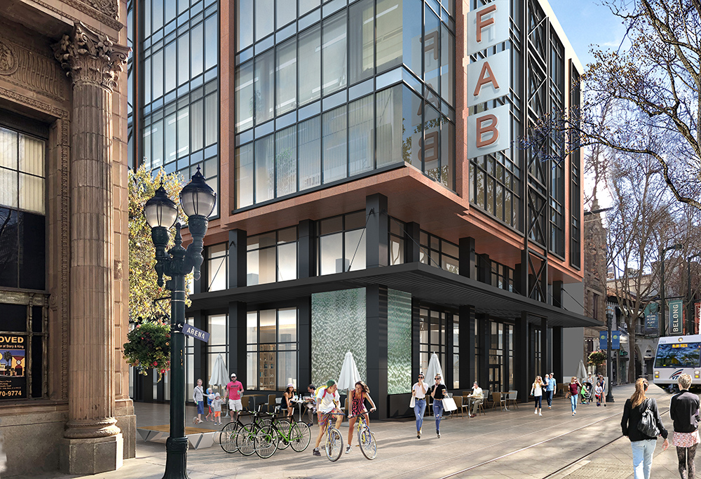 Fountain Alley Opportunity Zone Building