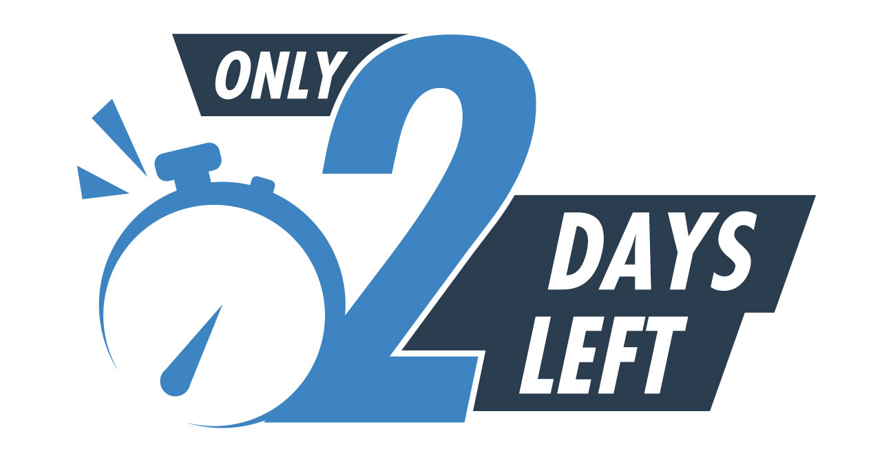 The March 31 Deadline is in Two Days!