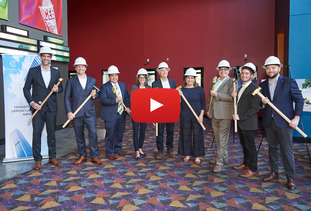 Urban Catalyst Breaks Ground on First of Seven Projects