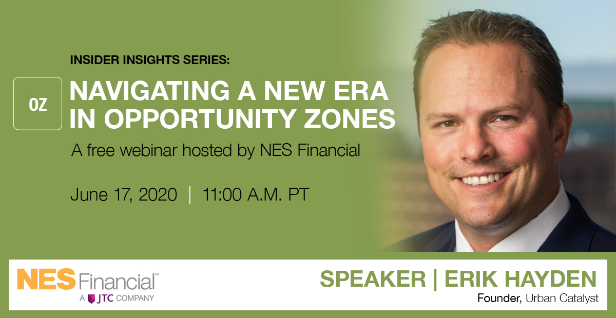 "NES Webinar Key Takeaways: ""Navigating a New Era in Opportunity Zones"