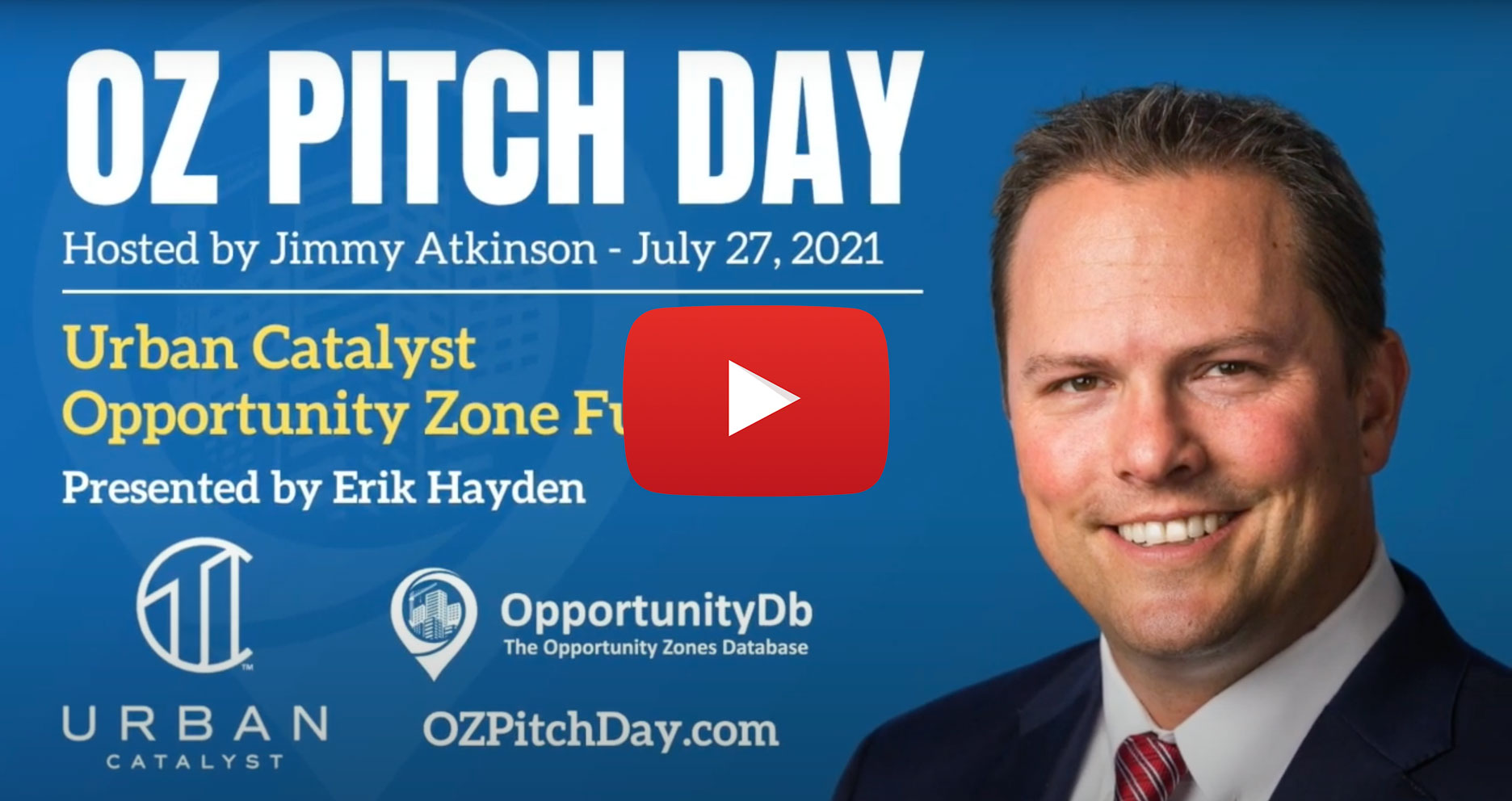 My OZ Pitch Day Pitch