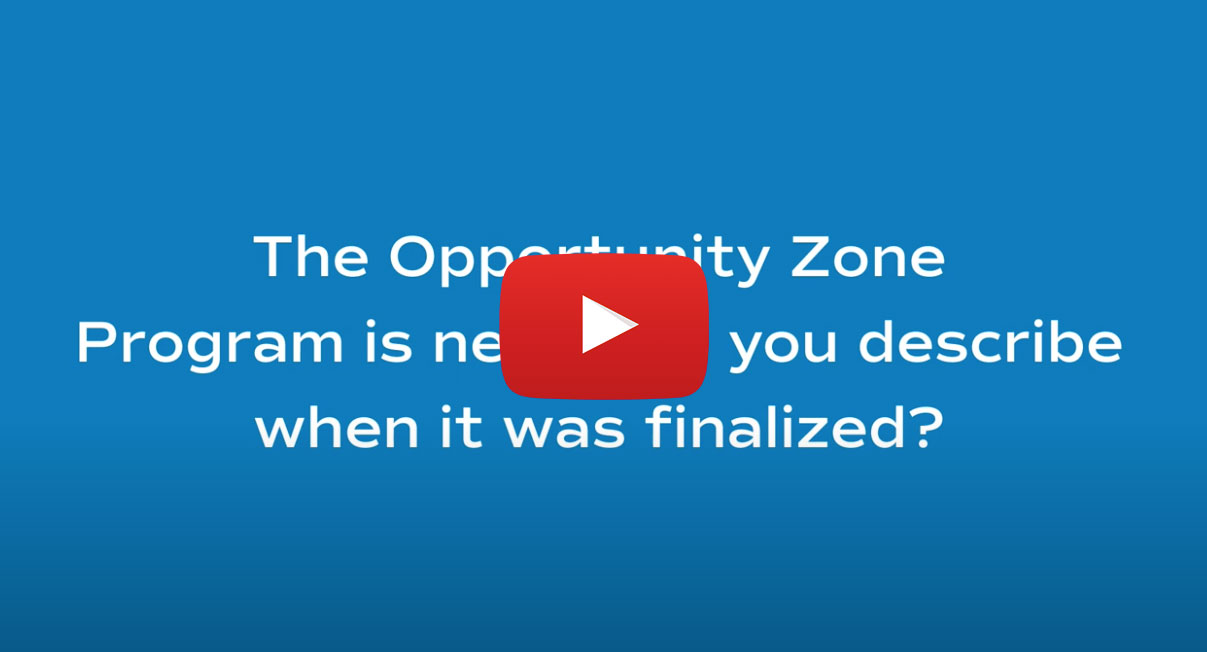 In Conversation with Nick Gibbons, CPA at Armanino: Top 25 Opportunity Zone Tax Questions
