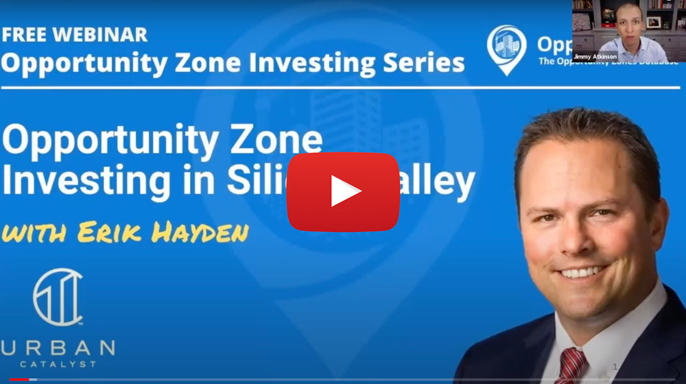 Webinar Key Takeaways: Opportunity Zone Investing in Silicon Valley
